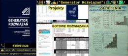 Generator Rozwiązań - Zaliczenia/Rozwiązania/Sprawozdania