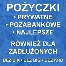 Pozyczki Pozabankowe od Osób Prywatnych bez Baz i Opłat