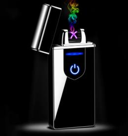 Zapalniczka plazmowa wiatroodporna Elektroniczna ładowana USB (WYSYŁKA ❗❗❗)