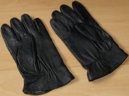 Rękawice skórzane ocieplane męskie