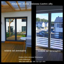 Lustro weneckie Tarchomin - Lustro 270, Lustro 285...Oklejanie szyb