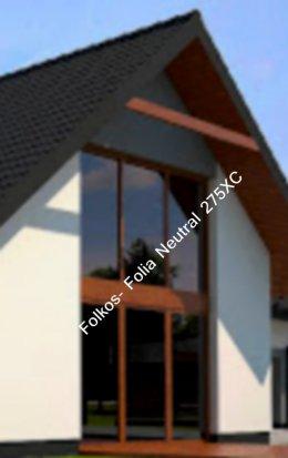 Folia neutral 275 XC - Folia zew.przeciwsłoneczna -red.IR 73%, red.UV 99% -przyciemnianie szyb