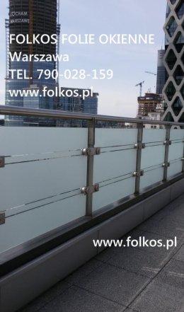 Folie na balkon Pruszków -Oklejanie balkonów