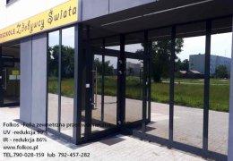 Folkos- folie przeciwsłoneczne Warszawa -redukcja rażenia słonecz.100% ,UV 99%