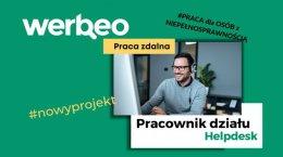 Pracownik Helpdesk, angielski - zdalna