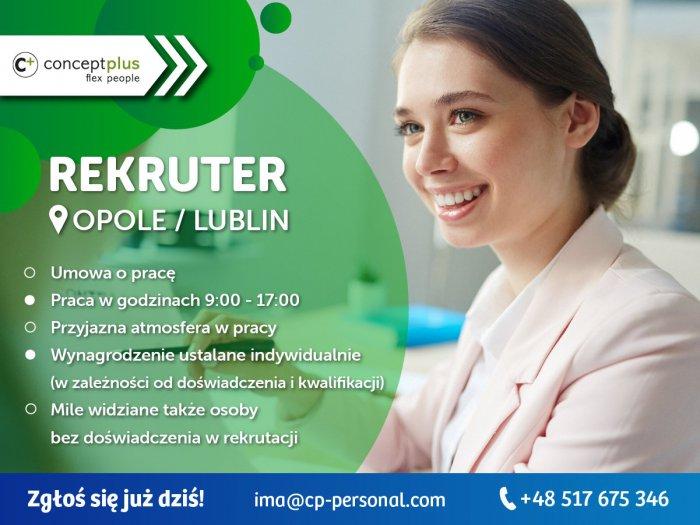 REKRUTER (K/M) - OPOLE / LUBLIN