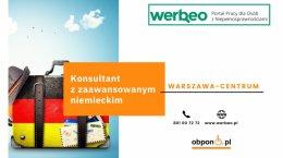Konsultant ds. obsługi klienta z językiem niemieckim – praca stacjonarna