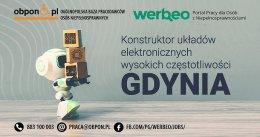 Konstruktor układów elektronicznych wysokich częstotliwości – Gdynia